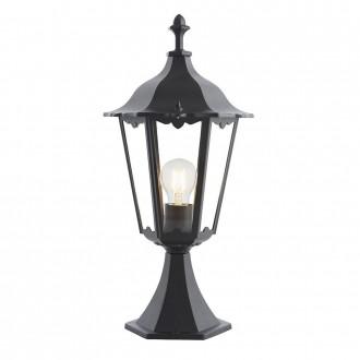 ENDON 76549 | Burford-EN Endon stolové svietidlo 50cm 1x E27 IP44 matná čierna, priesvitné