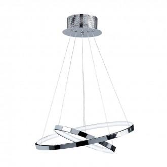 ENDON KLINE-2CH | Kline Endon visiace svietidlo 2x LED 1740lm 3000K chróm, morené