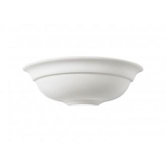 ENDON UG-WB-G | Hillside Endon stenové svietidlo 1x E27 biela