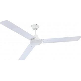 GLOBO 0310 | Ferro Globo stropné ventilátor impulzový prepínač biela