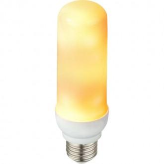 GLOBO 10100   E27 3W -> 25W Globo hriadeľ LED svetelný zdroj dekor Plameňový efekt 88lm 1600K