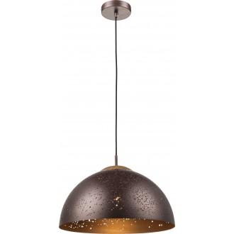 GLOBO 15000 | Tamor Globo visiace svietidlo 1x E27 bronzová, drevo