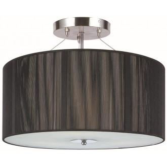 GLOBO 15101-3 | Twine Globo stropné svietidlo 3x E27 matný nikel, čierna