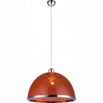 GLOBO 151840 | Carlo Globo visiace svietidlo 1x E27 chróm, červená
