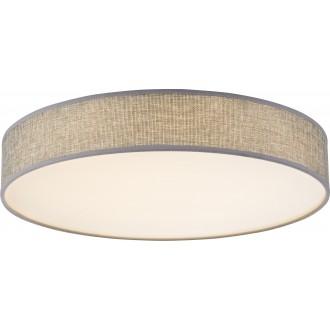 GLOBO 15185D1 | Paco Globo stropné svietidlo 1x LED 1100lm 3000K biela, sivé, biela