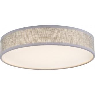GLOBO 15185D2 | Paco Globo stropné svietidlo 1x LED 2200lm 3000K biela, sivé, biela