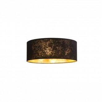 GLOBO 15287D | Amy Globo stropné svietidlo 3x E14 matný nikel, čierna, zlatý