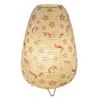GLOBO 16922T | Licorne Globo stolové svietidlo 34cm prepínač na vedení 1x E14 biela, vzorka