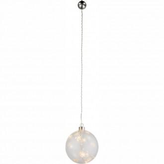 GLOBO 23235 | Kreta-I Globo dekor svietidlo prepínač 6x LED priesvitné
