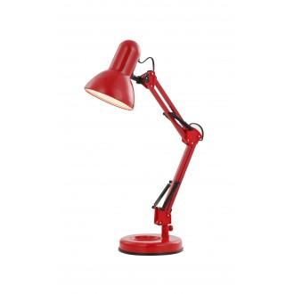 GLOBO 24882 | Famous Globo stolové svietidlo prepínač otočné prvky 1x E27 červená, čierna
