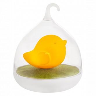 GLOBO 28038O | Ampato Globo stolové svietidlo 17cm dotykový prepínač s reguláciou svetla regulovateľná intenzita svetla, USB prijímač 4x LED pomaranč, biela, zelená