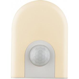 GLOBO 31931 | Enio-I Globo nočné svetlo svietidlo pohybový senzor, svetelný senzor - súmrakový spínač konektorové svietidlo 6x LED 10lm 3000K biela