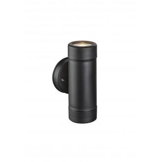 GLOBO 32005-2 | Cotopa Globo rameno stenové svietidlo 2x GU10 IP44 čierna