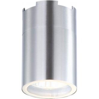 GLOBO 3202L | Style Globo stropné svietidlo 1x GU10 420lm 3000K IP21 oceľové, opál