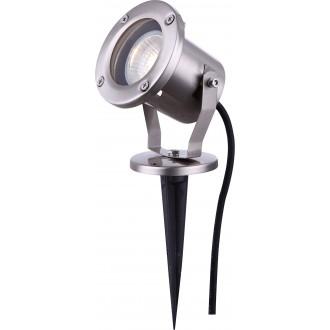 GLOBO 32075 | Style Globo zapichovacie svietidlo otočné prvky 1x GU10 IP65 oceľové