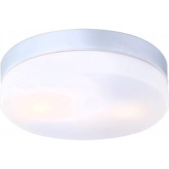 GLOBO 32112 | Vranos Globo stropné svietidlo 2x E27 IP44 hliník, opál