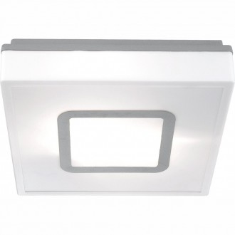 GLOBO 32212 | Lester Globo stropné svietidlo navrhované na úsporné žiarovky 2x E27 IP44 biela, hliník