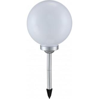 GLOBO 3377 | Soglo12 Globo zapichovacie svietidlo slnečné kolektorové / solárne 4x LED IP44 biela