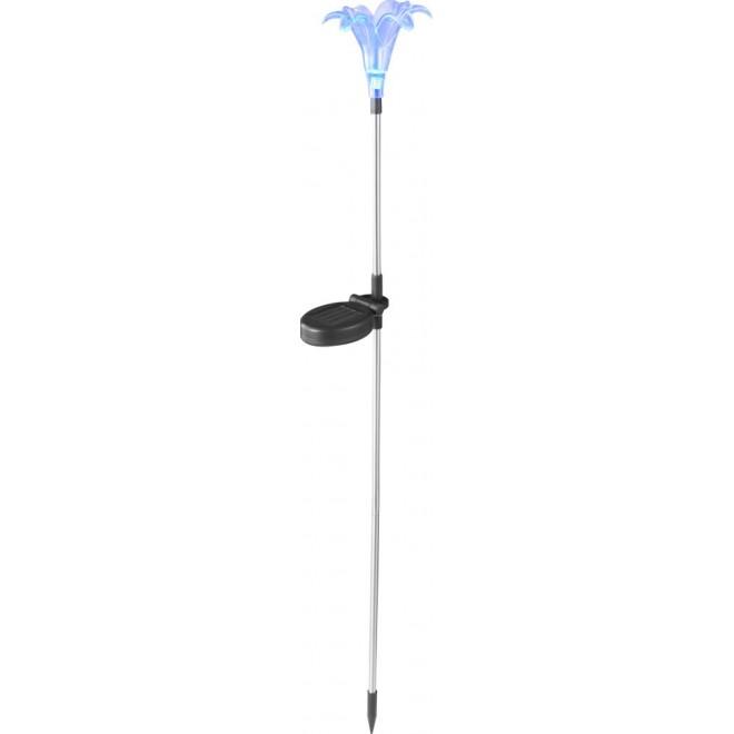 GLOBO 33942 | Soglo19 Globo zapichovacie svietidlo slnečné kolektorové / solárne, meniace farbu 1x LED IP44