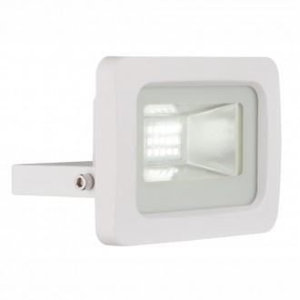 GLOBO 34002 | Callaqui Globo svetlomet svietidlo otočné prvky 1x LED 550lm 6000K IP65 biela, priesvitné