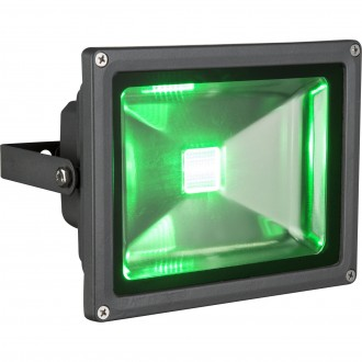 GLOBO 34119 | Radiator-V Globo svetlomet svietidlo diaľkový ovládač meniace farbu, otočné prvky 1x LED 400lm RGBK IP65 čierna, priesvitné