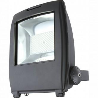 GLOBO 34221   Projecteur_I Globo svetlomet svietidlo otočné prvky 1x LED 6000lm 6500K IP65 tmavo sivé, priesvitné