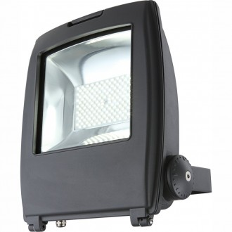 GLOBO 34222 | Projecteur-I Globo svetlomet svietidlo otočné prvky 1x LED 7500lm 6500K IP65 tmavo sivé, priesvitné