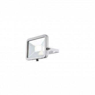 GLOBO 34223 | Projecteur-II Globo svetlomet svietidlo otočné prvky 1x LED 640lm 4000K IP65 biela, strieborný, priesvitné