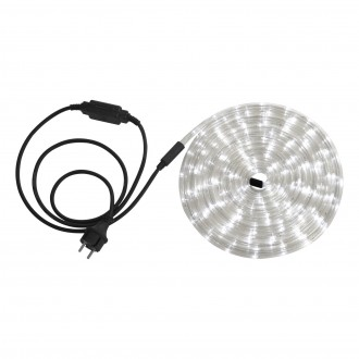 GLOBO 38961 | LightTube Globo svetelná hadica biela svetelný kábel - 6 m 144x LED IP44 biela