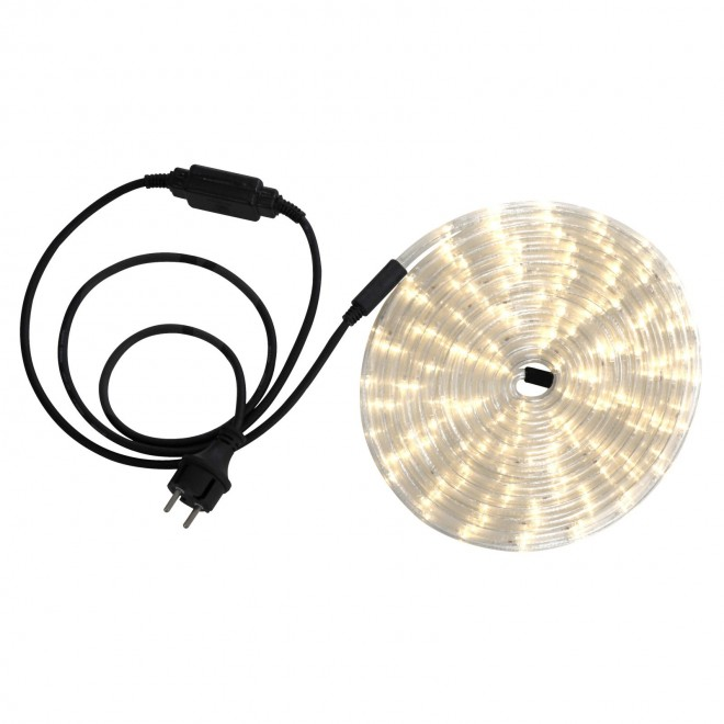 GLOBO 38962 | LightTube Globo svetelná hadica s teplým bielym svetlom svetelný kábel - 6 m 144x LED 288lm 2600K IP44 s teplým bielym svetlom