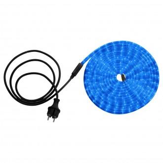 GLOBO 38963 | LightTube Globo svetelná hadica svietidlo 144x LED 144lm IP44 modrá