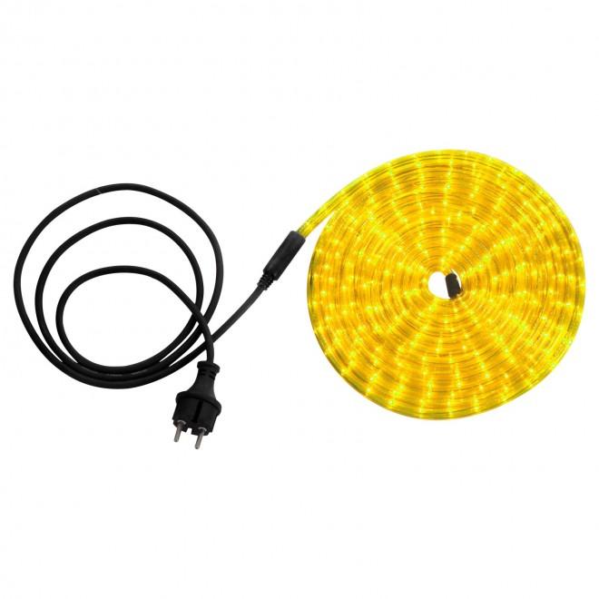 GLOBO 38965 | LightTube Globo svetelná hadica svietidlo 144x LED 87lm IP44 žltá