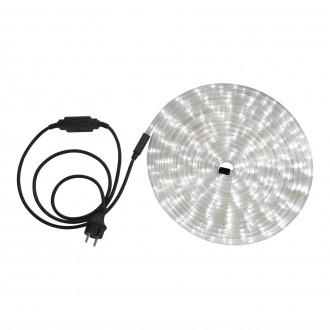 GLOBO 38971 | LightTube Globo svetelná hadica biela svetelný kábel - 9 m 216x LED IP44 biela