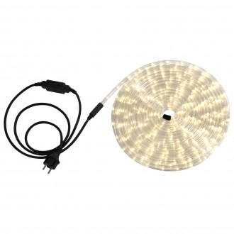 GLOBO 38972 | LightTube Globo svetelná hadica s teplým bielym svetlom svetelný kábel - 9 m 216x LED IP44 s teplým bielym svetlom