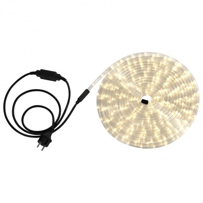 GLOBO 38972 | LightTube Globo svetelná hadica s teplým bielym svetlom svetelný kábel - 9 m 216x LED 432lm 2600K IP44 s teplým bielym svetlom