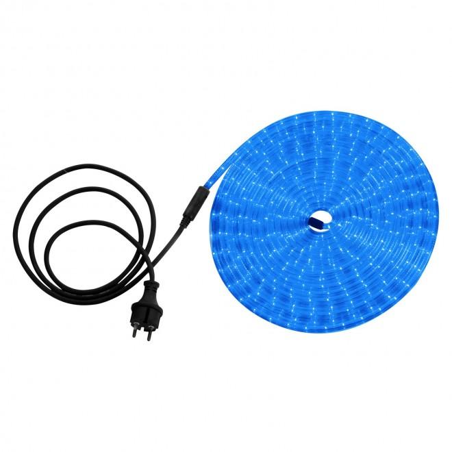 GLOBO 38973 | LightTube Globo svetelná hadica svietidlo 216x LED 216lm IP44 modrá