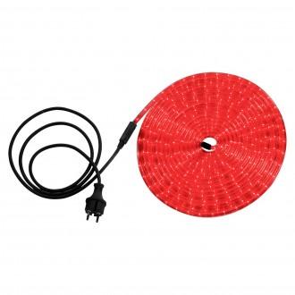 GLOBO 38974 | LightTube Globo svetelná hadica svietidlo 216x LED 130lm IP44 červená