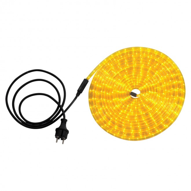 GLOBO 38975 | LightTube Globo svetelná hadica svietidlo 216x LED 130lm IP44 žltá