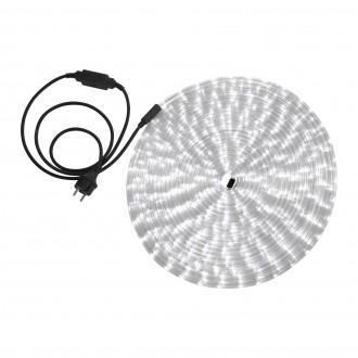 GLOBO 38981 | LightTube Globo svetelná hadica biela svetelný kábel - 18 m 432x LED IP44 biela