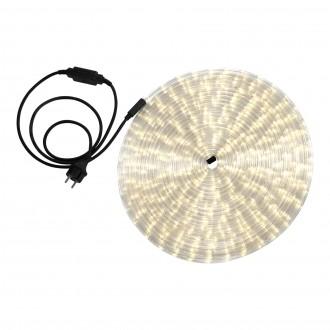 GLOBO 38982 | LightTube Globo svetelná hadica s teplým bielym svetlom svetelný kábel - 18 m 432x LED 864lm 2600K IP44 s teplým bielym svetlom