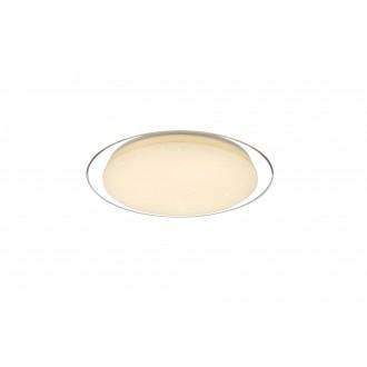 GLOBO 41310-30 | Optima Globo stropné svietidlo diaľkový ovládač regulovateľná intenzita svetla, nastaviteľná farebná teplota 1x LED 2600lm 3000 - 4000 - 6500K biela, priesvitné, lesklé