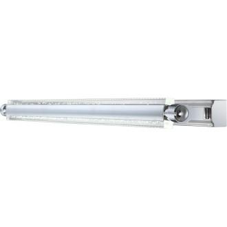 GLOBO 42418-10 | Levi Globo stenové svietidlo otáčateľný svetelný zdroj 1x LED 600lm 4000K chróm