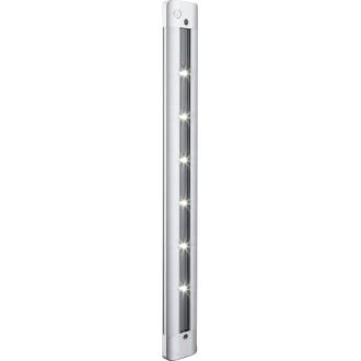 GLOBO 42423 | Spooky Globo stenové svietidlo dotykový vypínač 6x LED 180lm 6000K strieborný