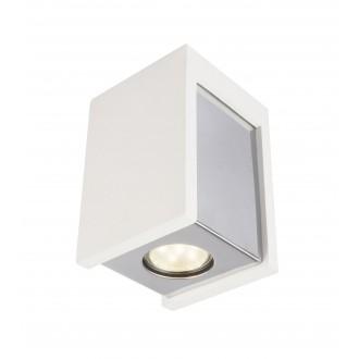 GLOBO 55010-1D | Christine-Timo Globo stropné svietidlo 1x GU10 chróm, biela
