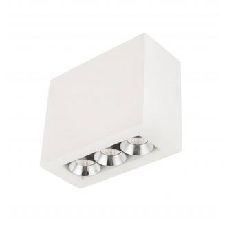 GLOBO 55010-3A | Christine-Timo Globo stropné svietidlo 1x LED 594lm 3000K chróm, biela