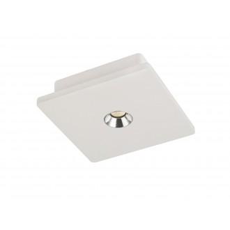 GLOBO 55010 | Christine-Timo Globo stropné svietidlo 1x LED 378lm 3000K biela, chróm