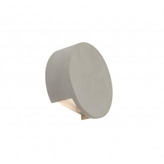 GLOBO 55011-W2 | Christine-Timo Globo stenové svietidlo 1x LED 615lm 3000K sivé