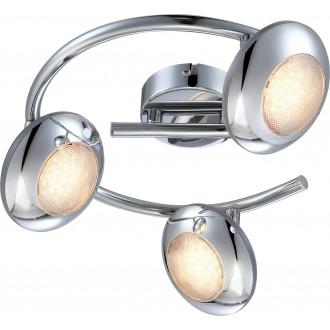GLOBO 56217-3   Gilles Globo spot svietidlo otočné prvky 3x LED 1050lm 3000K chróm, opál