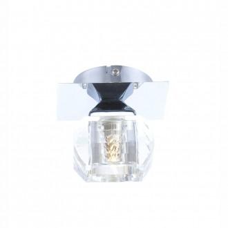 GLOBO 5692-1 | Cubus Globo stropné svietidlo 1x G9 chróm, priesvitné