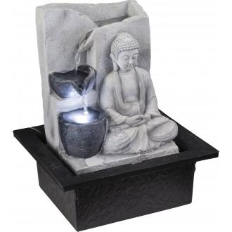 GLOBO 93019 | Globo izbová fontána svietidlo 1x LED sivé, kameň